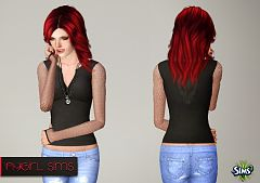 Sims 3 shirt, top, blouse
