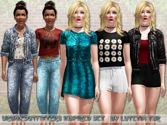 Sims 3 outfit