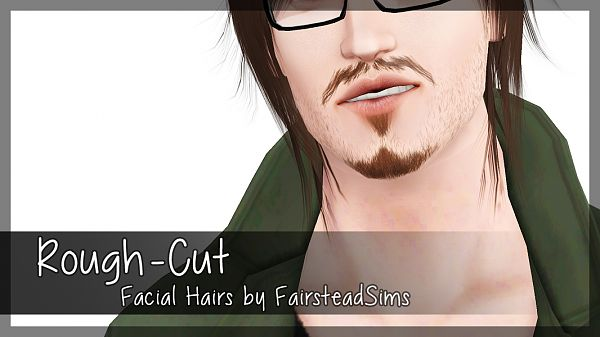 Sims 3 beard, facial hair