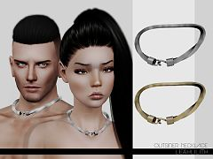 Sims 3 necklace, jewelry