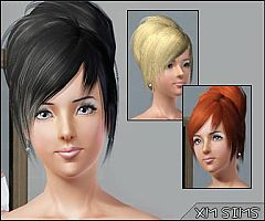 Sims 3 hairstyle, short