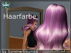 Sims 3 colors, hair, hairstyles