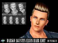 Sims 3 hair edit, hairstyle