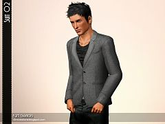 Sims 3 outfit, suit