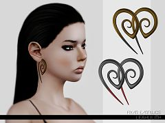 Sims 3 earrings, earplugs