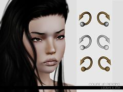 Sims 3 piercing, accessory