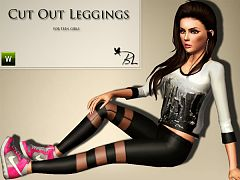 Sims 3 leggings, tights