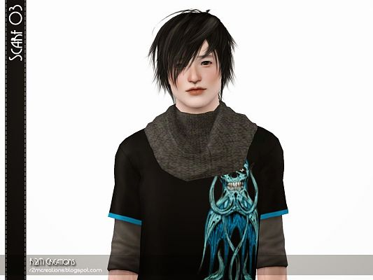 Sims 3 scarf, accessory