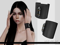 Sims 3 earrings, earcuff