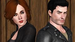 Sims 3 sim, sims, model, female, male