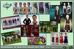 Sims 3 clothes, dress outfit