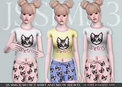 Sims 3 t-shirt, tee, top, short