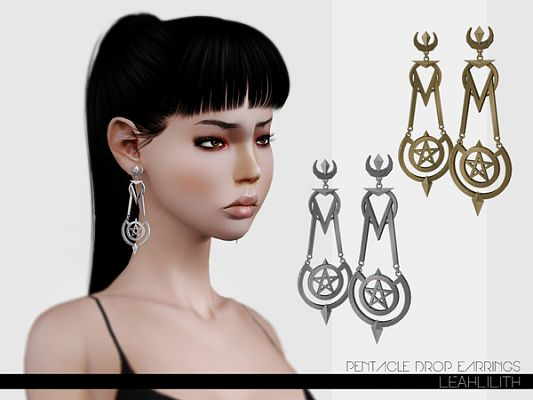 Sims 3 accessory, earrings