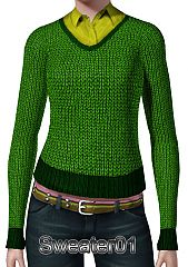 Sims 3 clothing, fashion, sweater