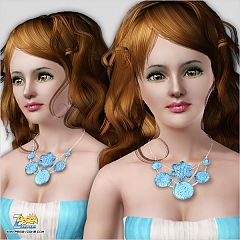 Sims 3 necklace, accessories, female, jewelry