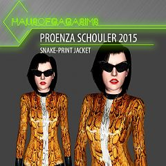 Sims 3 jacket, top