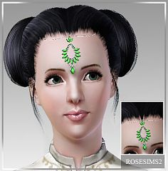 Sims 3 head accessory, jewelry