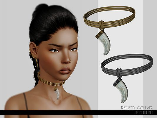 Sims 3 collar, necklace