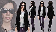 Sims 3 blazer, outfit, jacket