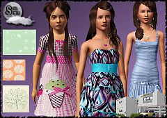 Sims 3 clothing, fashion, clothes, outfit, sims3, formal, house, pattern