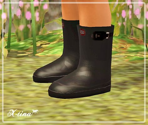 Sims 3 boots, shoes