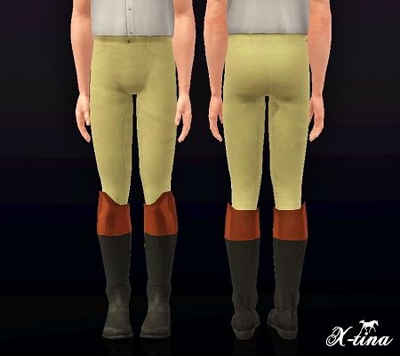 Sims 3 pants, trousers, jodhpurs