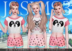 Sims 3 shorts, bottom, pants
