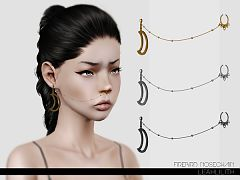 Sims 3 nose, chain, jewelry