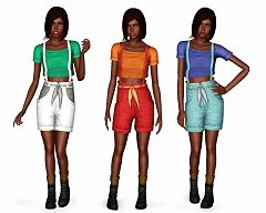 Sims 3 overall, outfit
