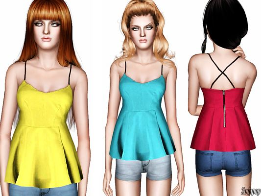 Sims 3 blouse, top