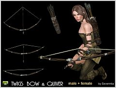 Sims 3 accessory, bow