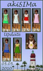 Sims 3 clothes, female, children