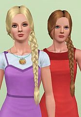 Admirable Sims 3 Updates Downloads Fashion Genetics Hair Page 6 Short Hairstyles For Black Women Fulllsitofus