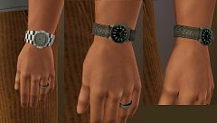 Sims 3 watches, accessories, man, jewelry, fashion