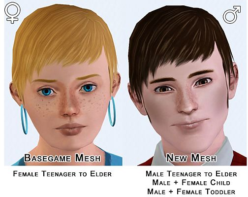 Sims 3 hair, hairstyle, male