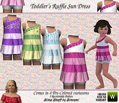 Sims 3 toddler, clothes, clothing, fashion, baby