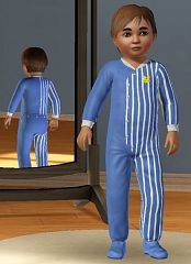 Sims 3 cloth, sleepwear, toddlers