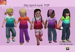 Sims 3 dress, cloth, clothes, outfit, toddler