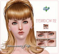 Sims 3 eyeshadow, makeup, eyes