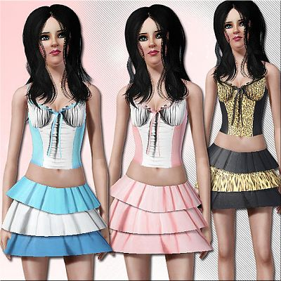 Sims 3 cloth, clothes, outfit, fashion