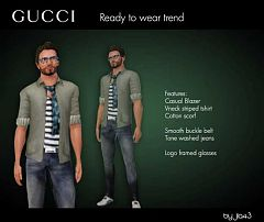 Sims 3 cloth, clothes, fashion,  outfit, males