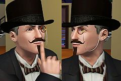 Sims 3 monocle