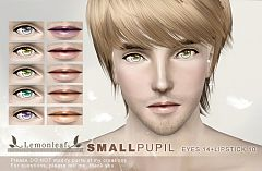 Sims 3 eyes, contacts, lipstick, makeup