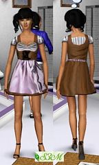 Sims 3 cloth, clothes, dress, fashion, tee shirt