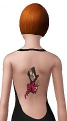 Sims 3 tattoos, accessories