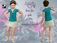 Sims 3 cloth, clothes, dress, fashion, girls