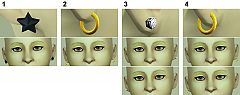 Sims 3 jewelry, earrings