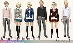Sims 3 cloth, clothes, fashion, uniforms