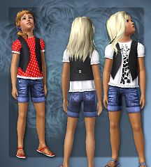 Sims 3 cloth, clothes, top, fashion, girls
