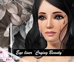 Sims 3 eyes, eyesliner, makeup